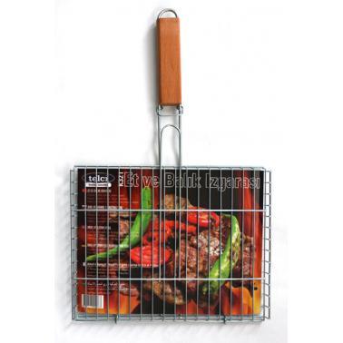 Скара за печене с дръжка K-216 35x51x2см - Horecano