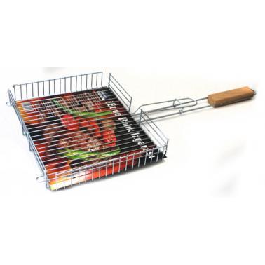 Скара за печене на риба  с дръжка  К-324  32x64x5см - Horecano