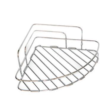 Иноксов стелаж / етажерка за баня на 1етажа ъгълEGE-(40489)- Horecano