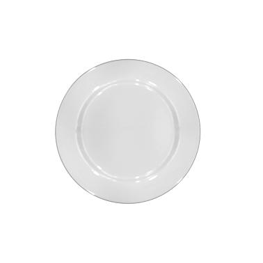 Меламинова чиния бяла   ф21см (LOK21) - Horecano