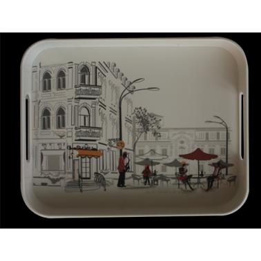 Меламинова табла с декор  26х33см. - CAFE(750) - Horecano