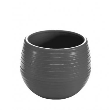 Пластмасова саксия за кактус №1 130мл микс/сива SERINOVA-(ES01)