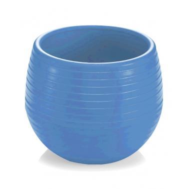 Пластмасова саксия за кактус №1 130мл синя SERINOVA-(ES01)