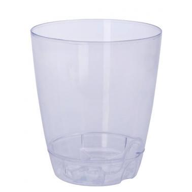 Пластмасова саксия заорхидея №2 1.5л прозрачна SA-(5452)- Senyayla