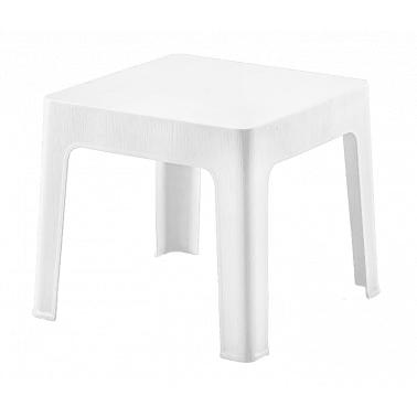 Пластмасова маса за шезлонг бяла SA-(2594)- Senyayla