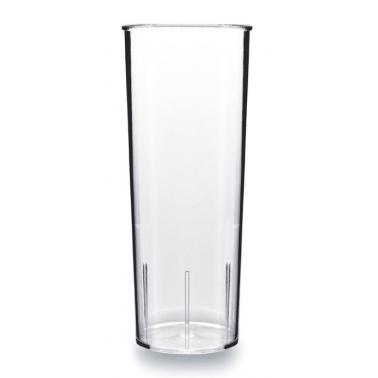 Поликарбонатна чаша  за коктейли 1л  9,6xh24см прозрачна RK-(RT.C100) - Rubikap