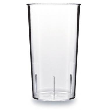 Поликарбонатна чаша   за коктейли 500мл  8xh16,4см  прозрачна  RK-(RT.C50)  - Rubikap