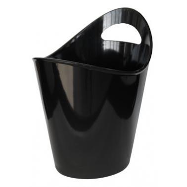 Поликарбонатна шампаниера  черна 25xh28.5см  RK-(BK.300B) - Rubikap