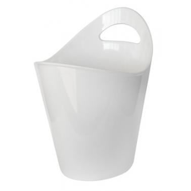 Поликарбонатна шампаниера  бяла  25xh28.5см   RK-(BK.300W) - Rubikap
