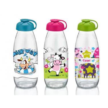 Стъклена бутилка с капаче 500млM-151937- Horecano