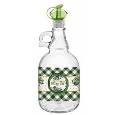 Стъклена бутилка за зехтин 1л MARIUS, M-151330 - Horecano
