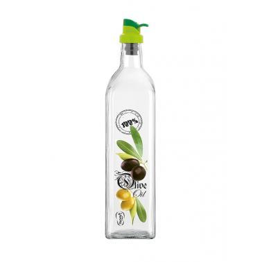 Стъклена бутилка за олио/зехтин  500мл