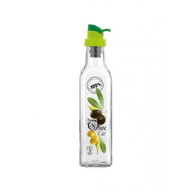 Стъклена бутилка за олио/зехтин 250мл