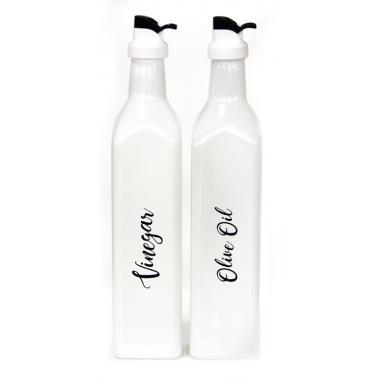 Стъклена бутилка  за оцет