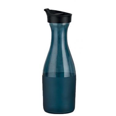 Стъклена гарафа за вода синя 1л  COBALT  M-151561 - Horecano