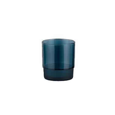 Стъклена чаша за вода /  безалкохолни напитки синя  280мл COBALT  M-141097  - Horecano