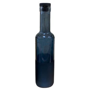 Стъклена бутилка за зехтин с тапа синя 250мл COBALT M-151419 - Horecano
