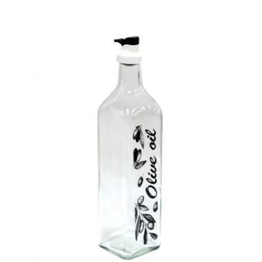 Стъклена бутилка за зехтин OSLO 500мл прозрачнаM-151426- Horecano