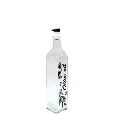 Стъклена бутилка за зехтин OSLO 250мл прозрачнаM-151425- Horecano