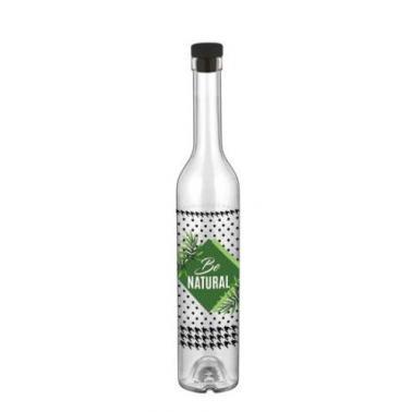 Стъклена бутилка за зехтин с декор 250мл