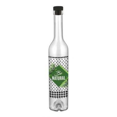 Стъклена бутилказа зехтин с декор 500мл