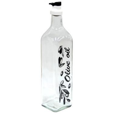 Стъклена бутилка за зехтин OSLO 1лM-152064- Horecano