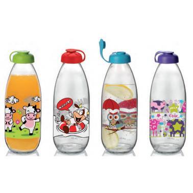 Стъклена бутилка за мляко 1лM-151943- Horecano