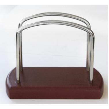 Дървен салфетник кафяв МM-500001 - Horecano