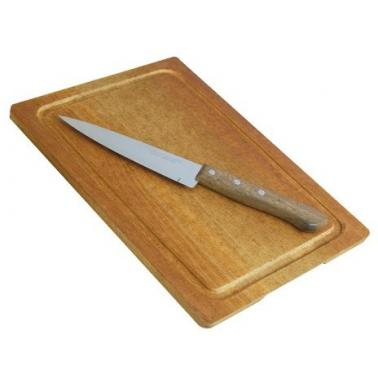 Комплект от дървена дъска 24x34см с нож (1557)SIMONAGGIO-CUCINA MIA