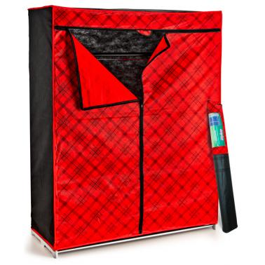 Сгъваем текстилен гардероб 48x117x145см PERILLA-(63003)