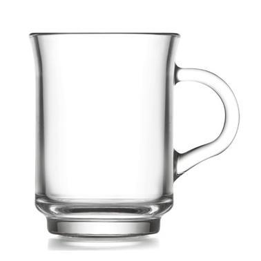 Стъклена чаша за топли напитки 250мл  ADA 415 - Lav