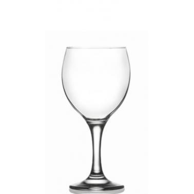 Стъклена чашa на столче забяло вино 210мл LAV-MIS (549)