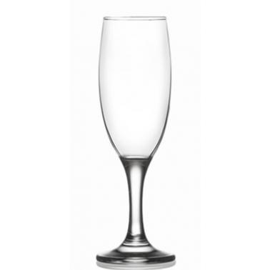 Стъклена чашa на столче за шампанско 190млLAV-MIS 535