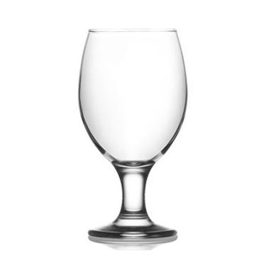 Стъклена чаша на столче за бирa 400мл LAV-MIS (571)