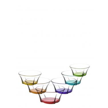 Стъкленакупичкамалка 295мл CORAL различни цветовеLAV-TRU 264 PT068FC