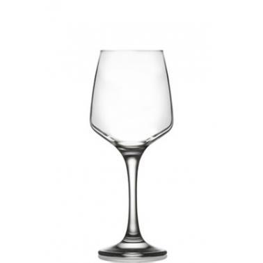 Стъклена чаша за червено вино  на столче 250мл LAV -LAL 524