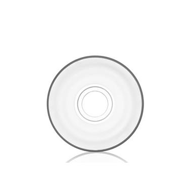 Стъклена чинийка подложна за  чаша за чай 11см AJDA 268 - Lav