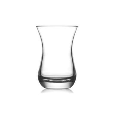 Стъклена чаша за турски чай  / топли напитки 165мл  AJDA 315 - Lav