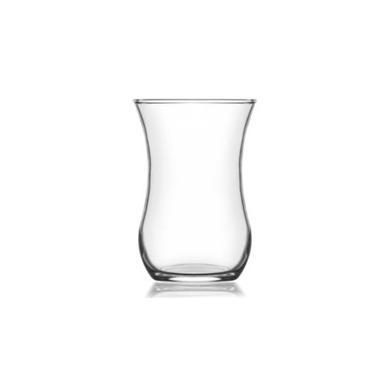Стъклена чаша за турски чай  / топли напитки 115мл KLASIK-30020 - Lav