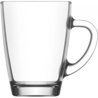 Стъклена чаша  за топли напитки 300мл VEG 422 - Lav