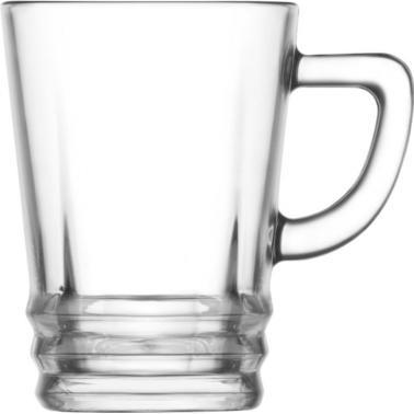 Стъклена чаша  за топли напитки 225мл   ELG 439 - Lav