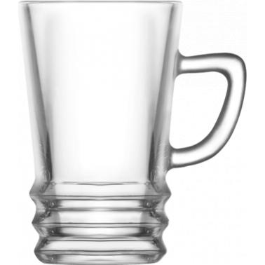 Стъклена чаша за чай  / топли напитки 110мл ELG 429 - Lav
