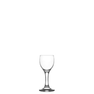 Стъклена чашa  на столче за ракия / аперитив 55мл LAV -MIS 509YHD-(HORECA)