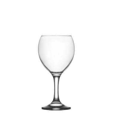 Стъклена чашa на столче за вода 340мл  LAV -MIS 560YHD-(HORECA)