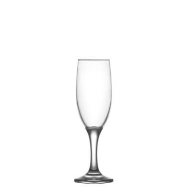 Стъклена чаша  на столче за шампанско 190мл  LAV-MIS 535YHD- (HORECA)