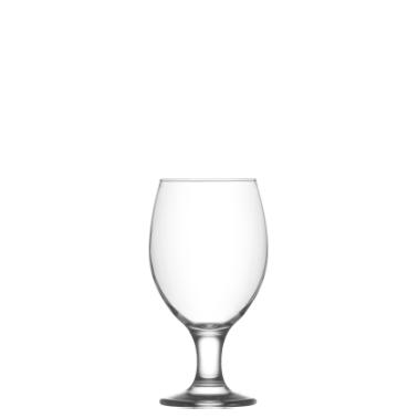 Стъклена чаша  на столче за бирa 400мл LAV-MIS 571YHD-(HORECA)