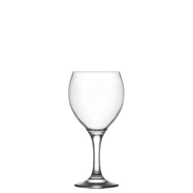 Стъклена чашa на столче за червено вино 260мл LAV -MIS 552YHD-(HORECA)