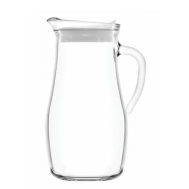 Стъклена кана с бял капак h24,58см 1,8лMIS 180-PK0002 - Lav