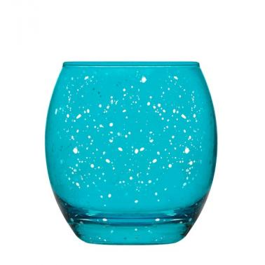 Стъклена чашаза вода / безалкохолни напитки ниска 405мл EMPIRE BLUE-(EMP364 PXX1M0063XZ) - Lav
