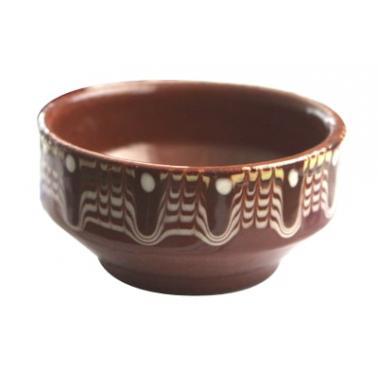 Керамична купичка с троянска шарка  7см - Horecano